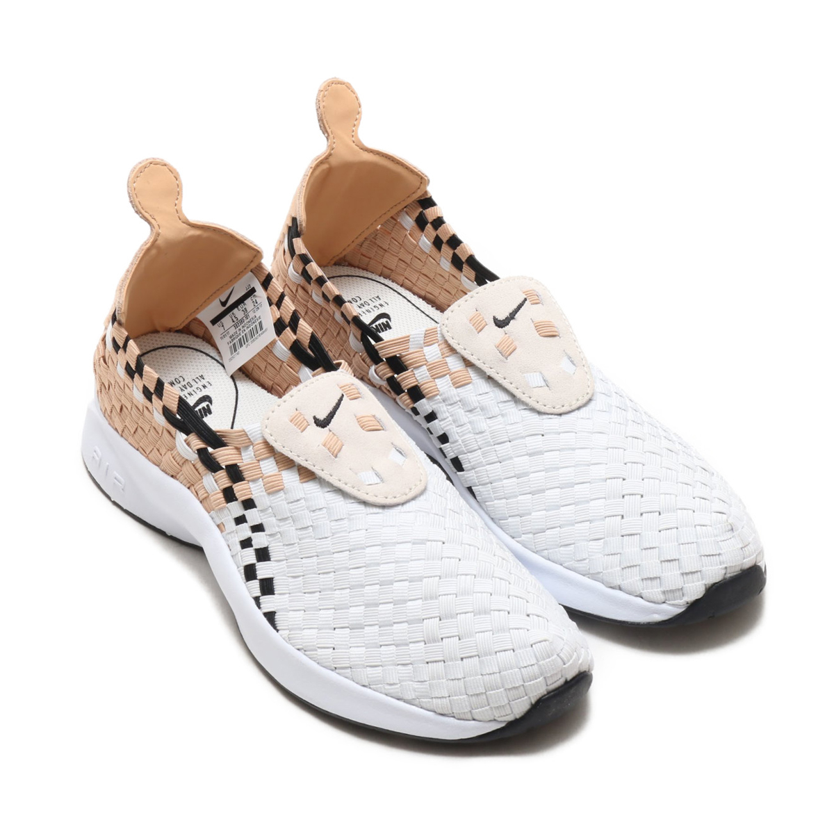 NIKE WMNS AIR WOVEN (Nike women air Woo) (SAIL BLACK-VACHETTA TAN) 18SU-S bf4012241d