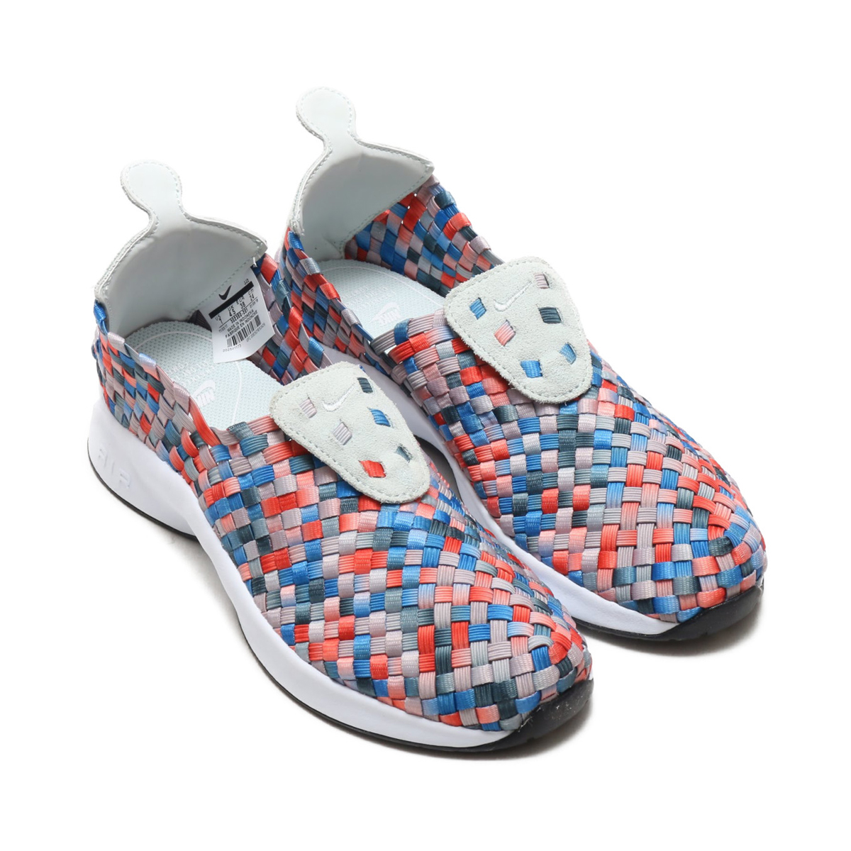 NIKE WMNS AIR WOVEN (Nike women air Woo) (MOON PARTICLE BARELY GREY-DEEP  JUNGLE) 18SU-S 2a801ba017