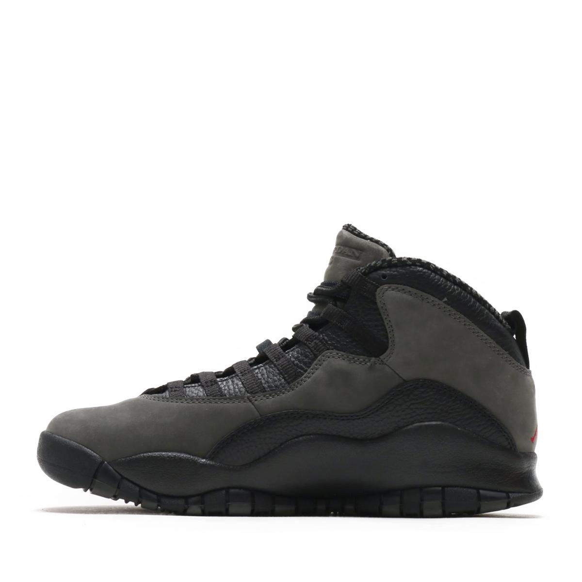 99184a322e65 NIKE AIR JORDAN 10 RETRO (nostalgic Nike Air Jordan 10) (DARK SHADOW TRUE  RED-BLACK) 18SU-S
