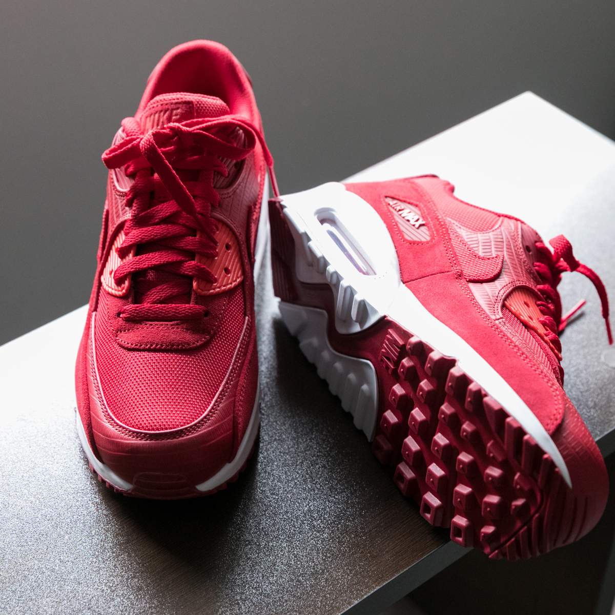 nike air max 90 gym red