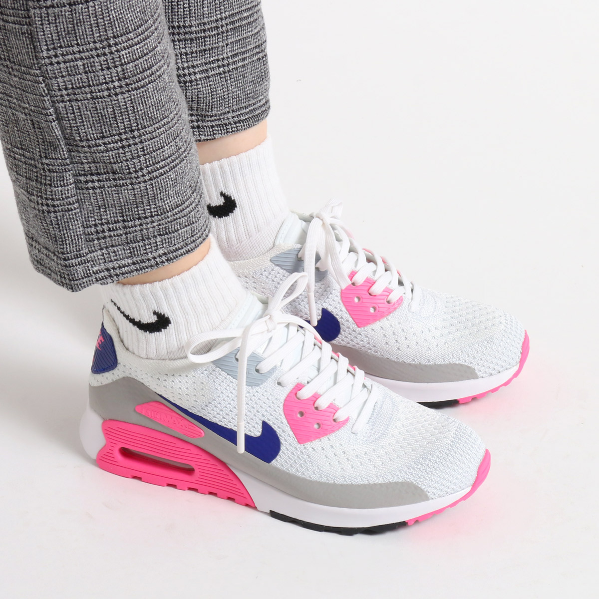 new product 061eb 152b0 ... NIKE W AIR MAX 90 ULTRA 2.0 FLYKNIT (Nike we Lady s Air Max 90 ultra ...
