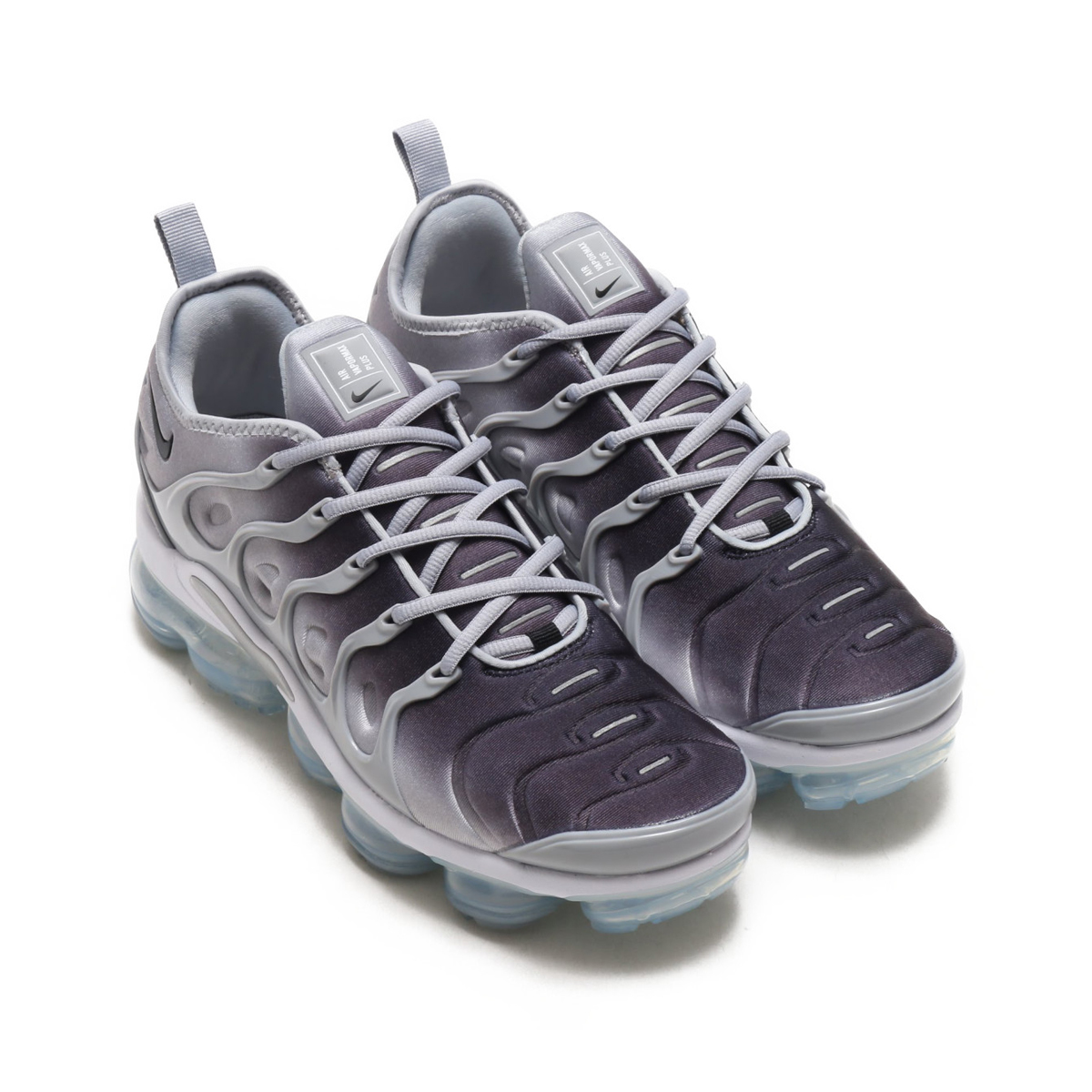 3c38528e0 NIKE AIR VAPORMAX PLUS (Nike air vapor max plus) (WOLF GREY BLACK-WHITE)  18SU-S