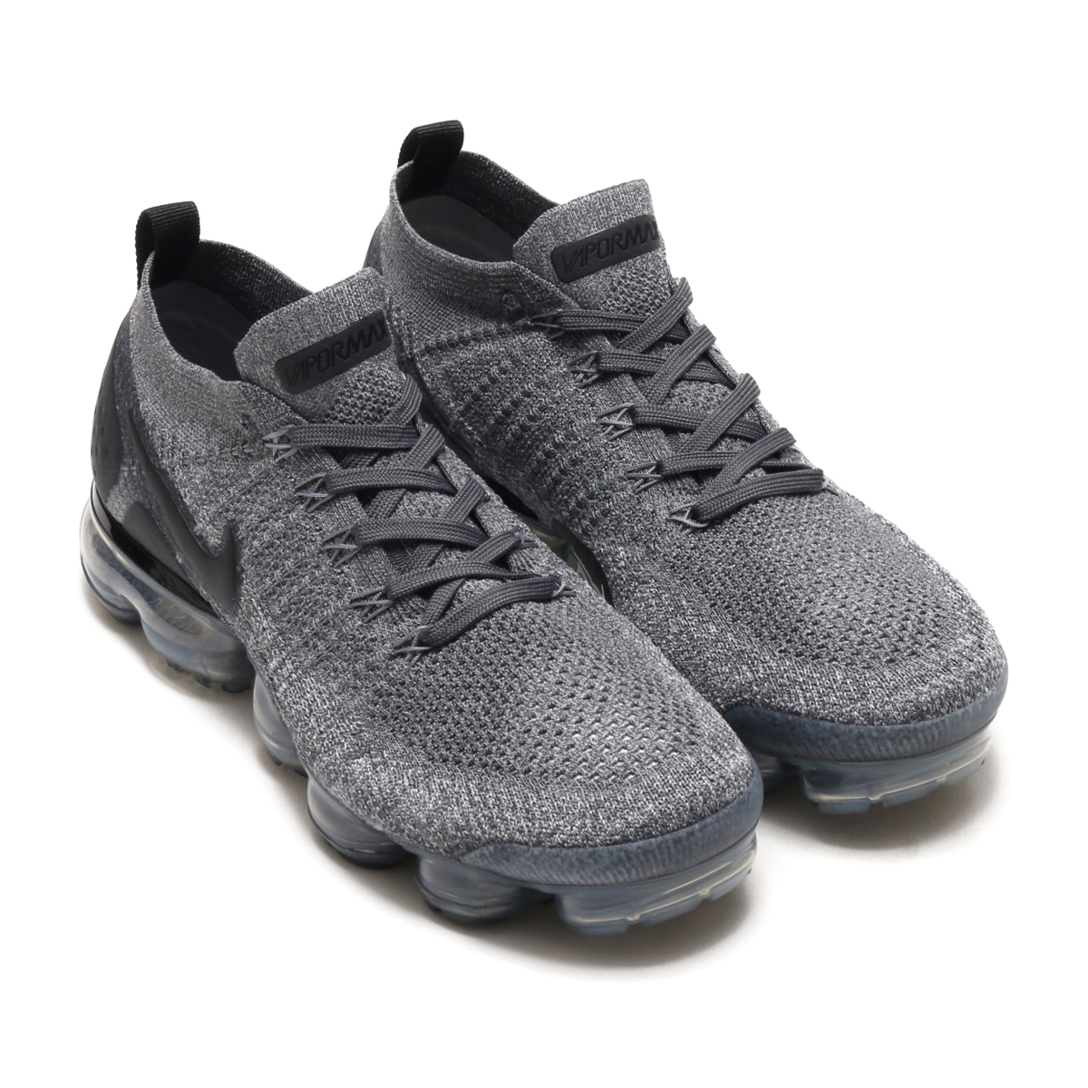4da28cb22da NIKE AIR VAPORMAX FLYKNIT 2 (Nike air vapor max fried food knit 2) (DARK  GREY BLACK-WOLF GREY-BLACK) 18SU-S