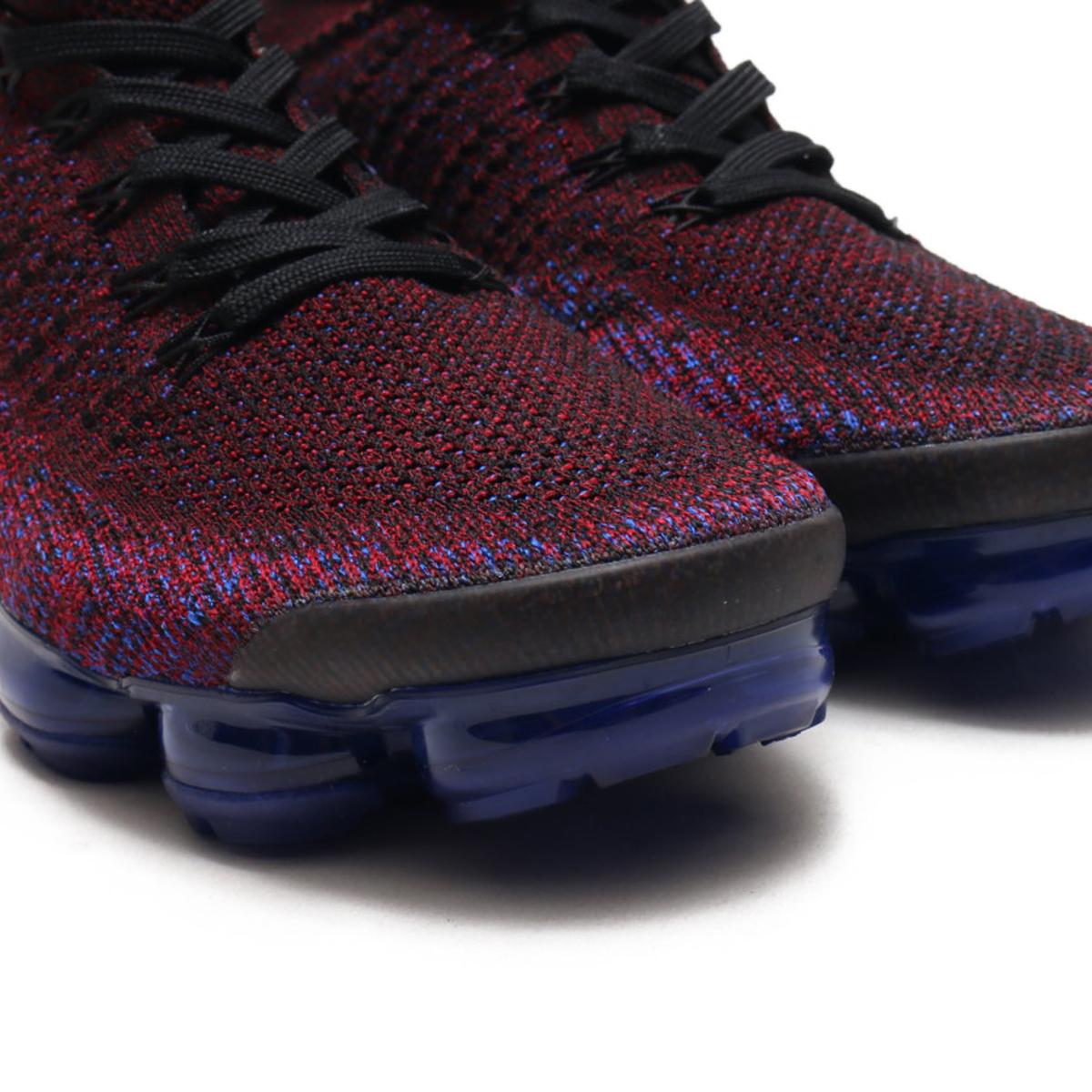 26faaa42115b NIKE AIR VAPORMAX FLYKNIT 2 (Nike air vapor max fried food knit 2)  (BLACK BLACK-TEAM RED-RACER BLUE) 18SU-S