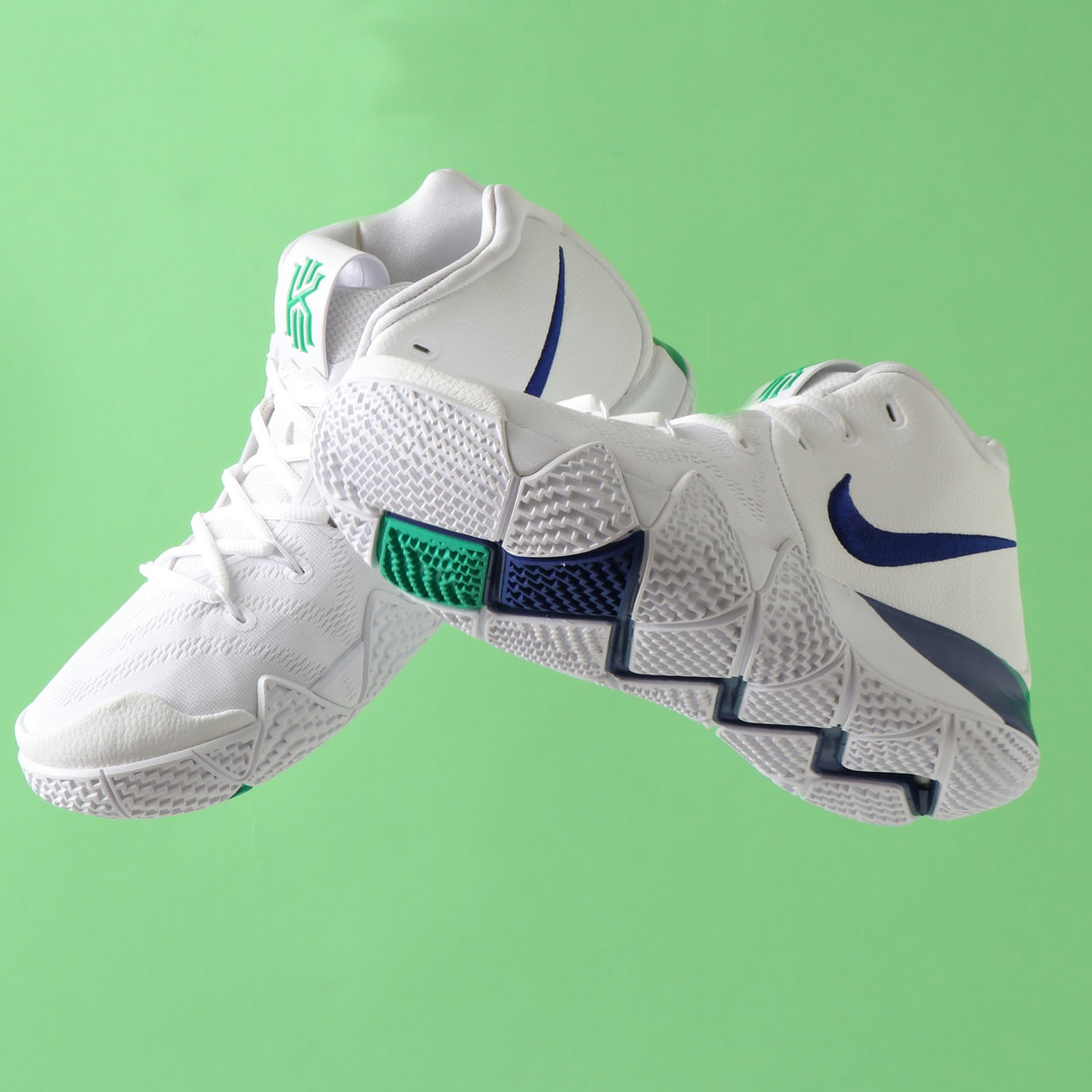 size 40 b40f6 c22c5 NIKE KYRIE 4 EP (Nike chi Lee 4 EP) WHITE DEEP ROYAL BLUE 18SU-S
