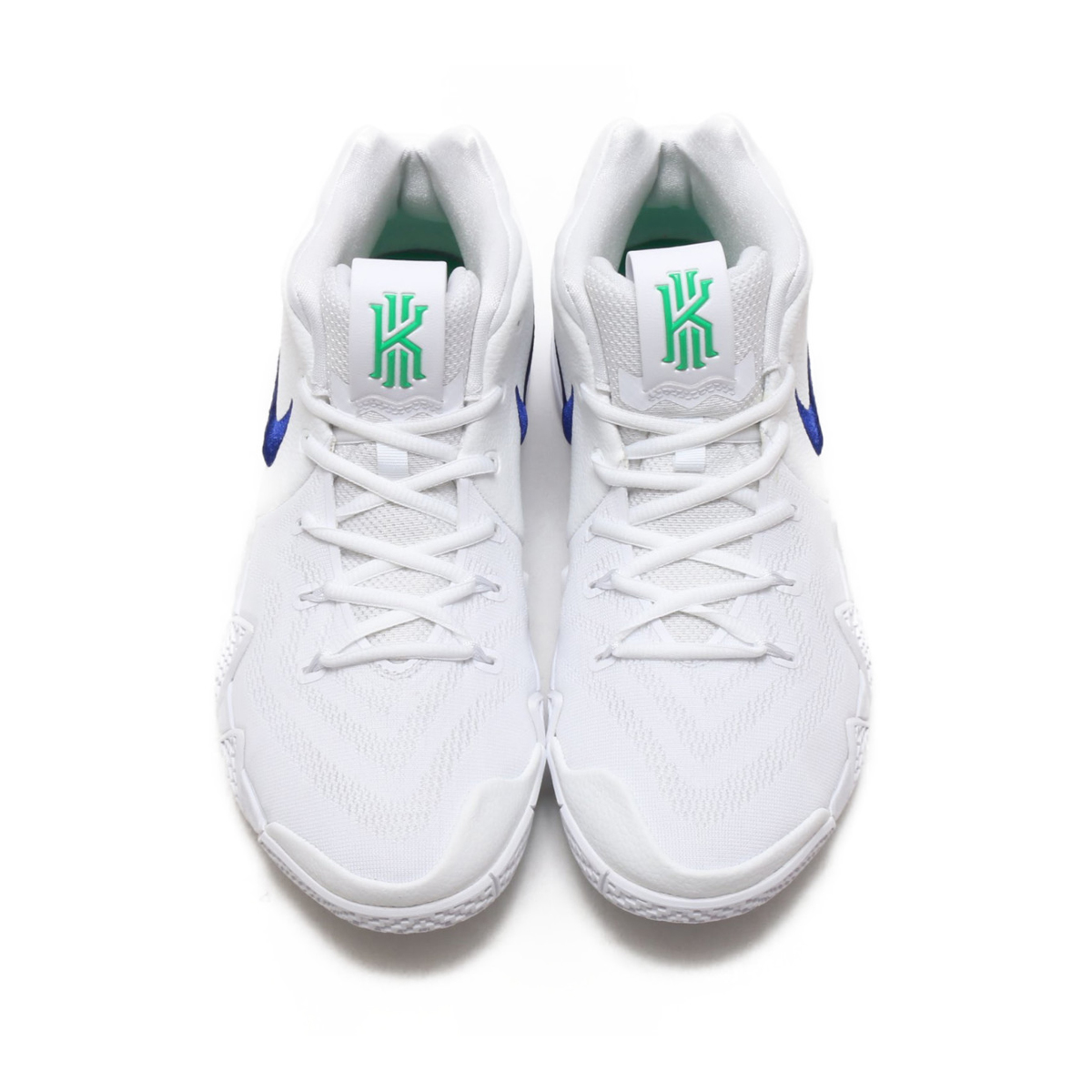 size 40 35f25 a9b39 NIKE KYRIE 4 EP (Nike chi Lee 4 EP) WHITE DEEP ROYAL BLUE 18SU-S