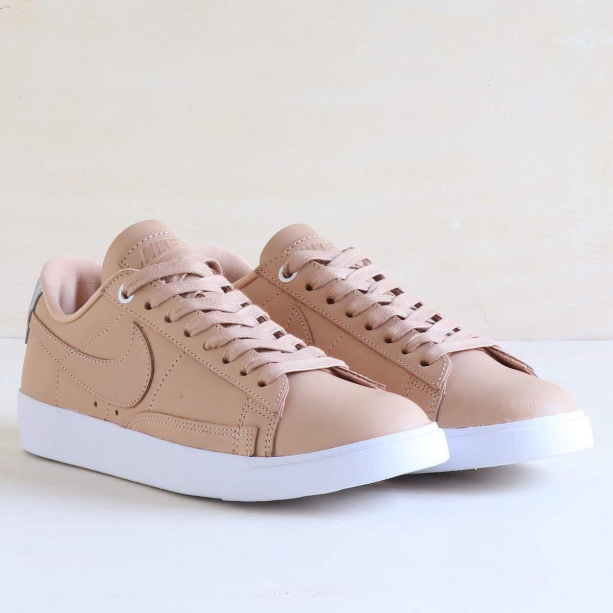 cdc9307f17bf NIKE W BLAZER LOW SE PRM (Nike women blazer low SE premium) VACHETTA TAN VACHETTA  TAN-WHITE 18SU-S