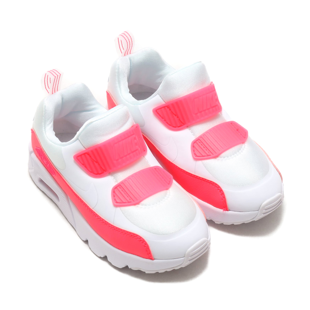 6f94faed2369 NIKE AIR MAX TINY 90 SE (PS) (Kie Ney AMAX Thailand knee 90 SE PS) WHITE  WHITE-RACER PINK-RUSH PINK 18SU-S