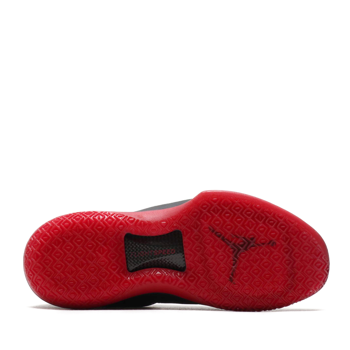 huge discount c7859 94c34 NIKE AIR JORDAN XXXII LOW PF (Nike Air Jordan XXXII low PF) BLACK GYM RED-TOUR  YELLOW 18SU-S