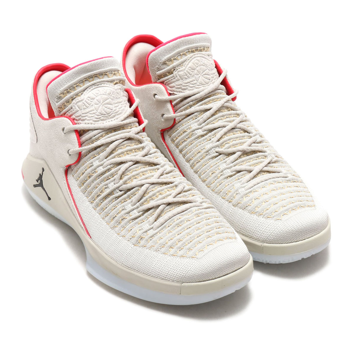 bbdeddd876803a NIKE AIR JORDAN XXXII LOW PF (Nike Air Jordan XXXII low PF) LIGHT BONE BLACK-VACHETTA  TAN-INFRARED 18SU-S