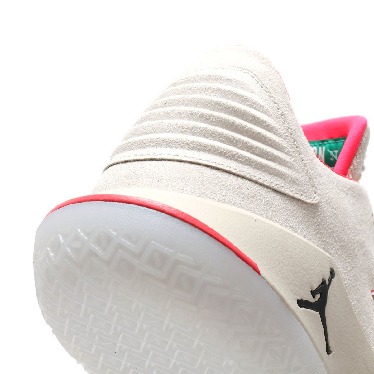 uk availability 23e75 e5d72 NIKE AIR JORDAN XXXII LOW PF (Nike Air Jordan XXXII low PF) LIGHT BONE BLACK-VACHETTA  TAN-INFRARED 18SU-S