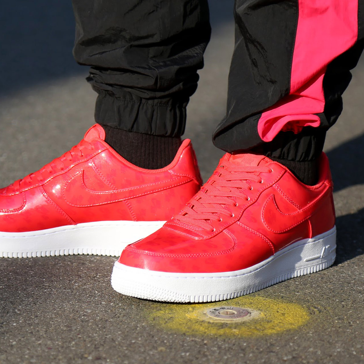 ccede2d7ca4 NIKE AIR FORCE 1 '07 LV8 UV (Nike air force 1 07 LV8 UV) (SIREN RED/SIREN  RED-WHITE-WHITE) 18SU-I
