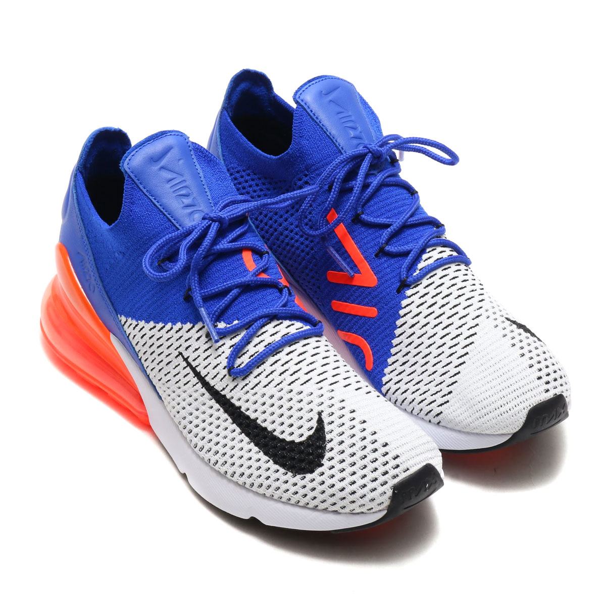 c458a2cc89 NIKE AIR MAX 270 FLYKNIT (Kie Ney AMAX 270 fried food knit) (WHITE ...