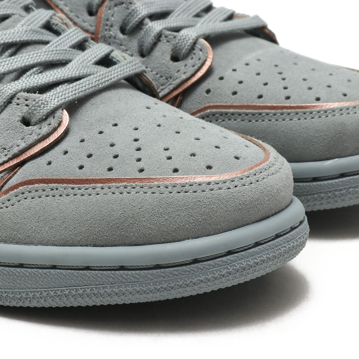 332838099d74 NIKE WMNS AIR JORDAN 1 RETRO LOW NS (Nike women Air Jordan 1 nostalgic low  NS) (MICA GREEN MTLC RED BRONZE) 18SU-S