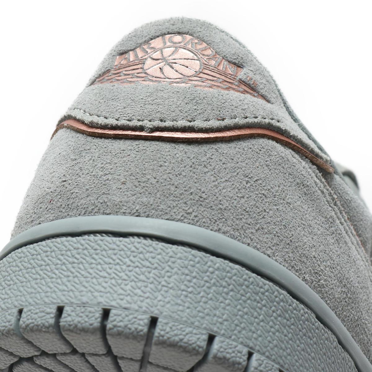 965138a8156eb0 NIKE WMNS AIR JORDAN 1 RETRO LOW NS (Nike women Air Jordan 1 nostalgic low  NS) (MICA GREEN MTLC RED BRONZE) 18SU-S