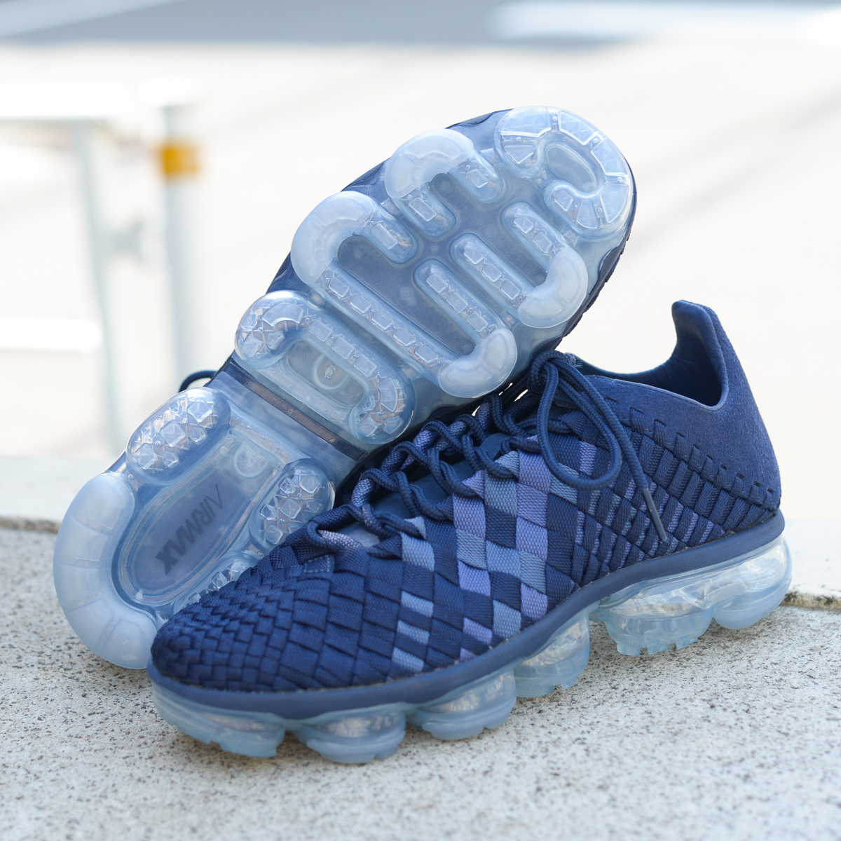 6cddaeeef63af NIKE AIR VAPORMAX INNEVA (Nike vapor Mac Sui Neva) (MIDNIGHT NAVY MIDNIGHT  NAVY) 18SU-S