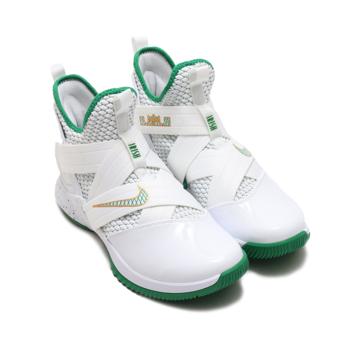 NIKE LEBRON SOLDIER XII EP(ナイキ レブロン ソルジャー XII EP)(WHITE/MULTI-COLOR)18SU-S