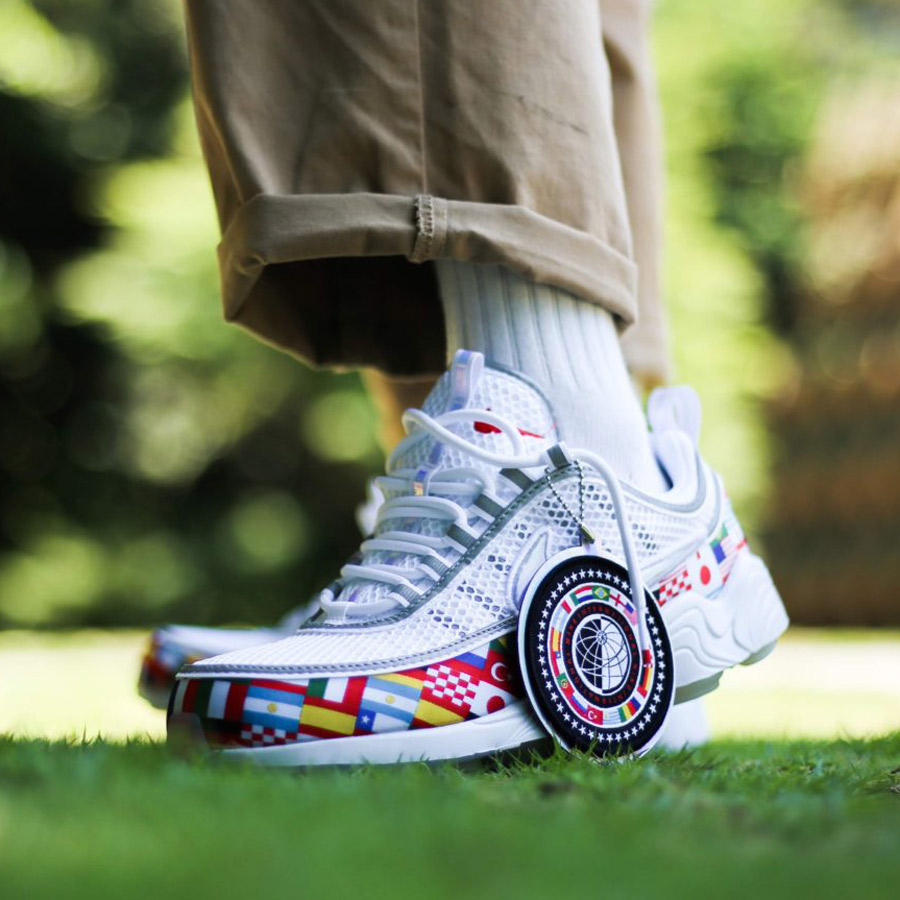 NIKE AIR ZOOM SPIRIDON '16 NIC QS(ナイキ エア ズーム スピリドン 16 WC)(WHITE/MULTI-COLOR)18SU-S
