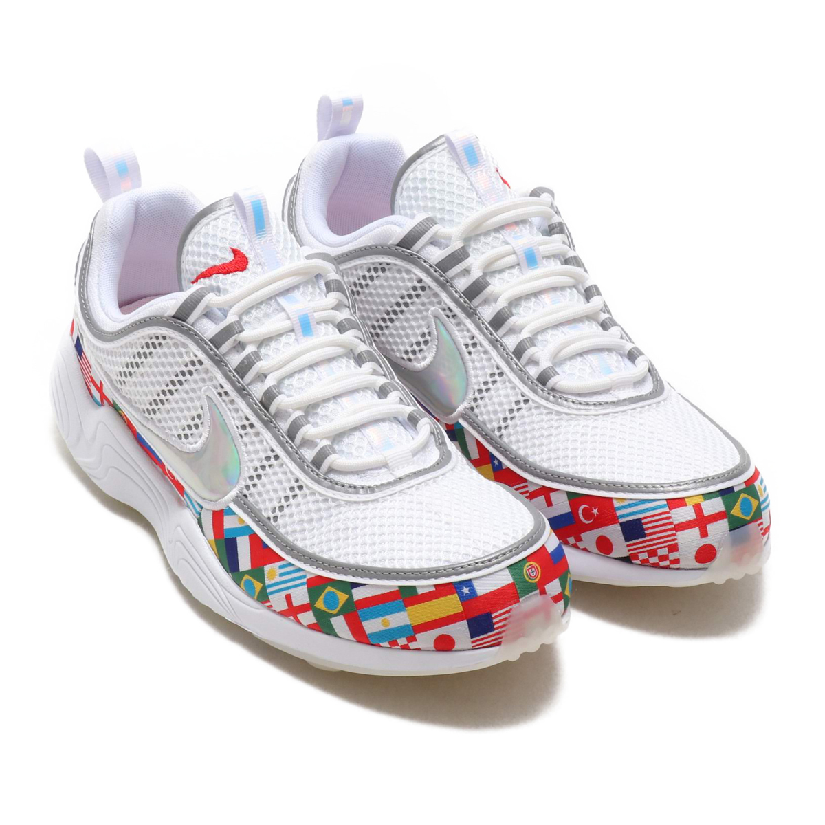NIKE AIR ZOOM SPIRIDON  16 NIC QS (Nike air zoom pyridone 16 WC) (WHITE  MULTI-COLOR) 18SU-S 475033d25