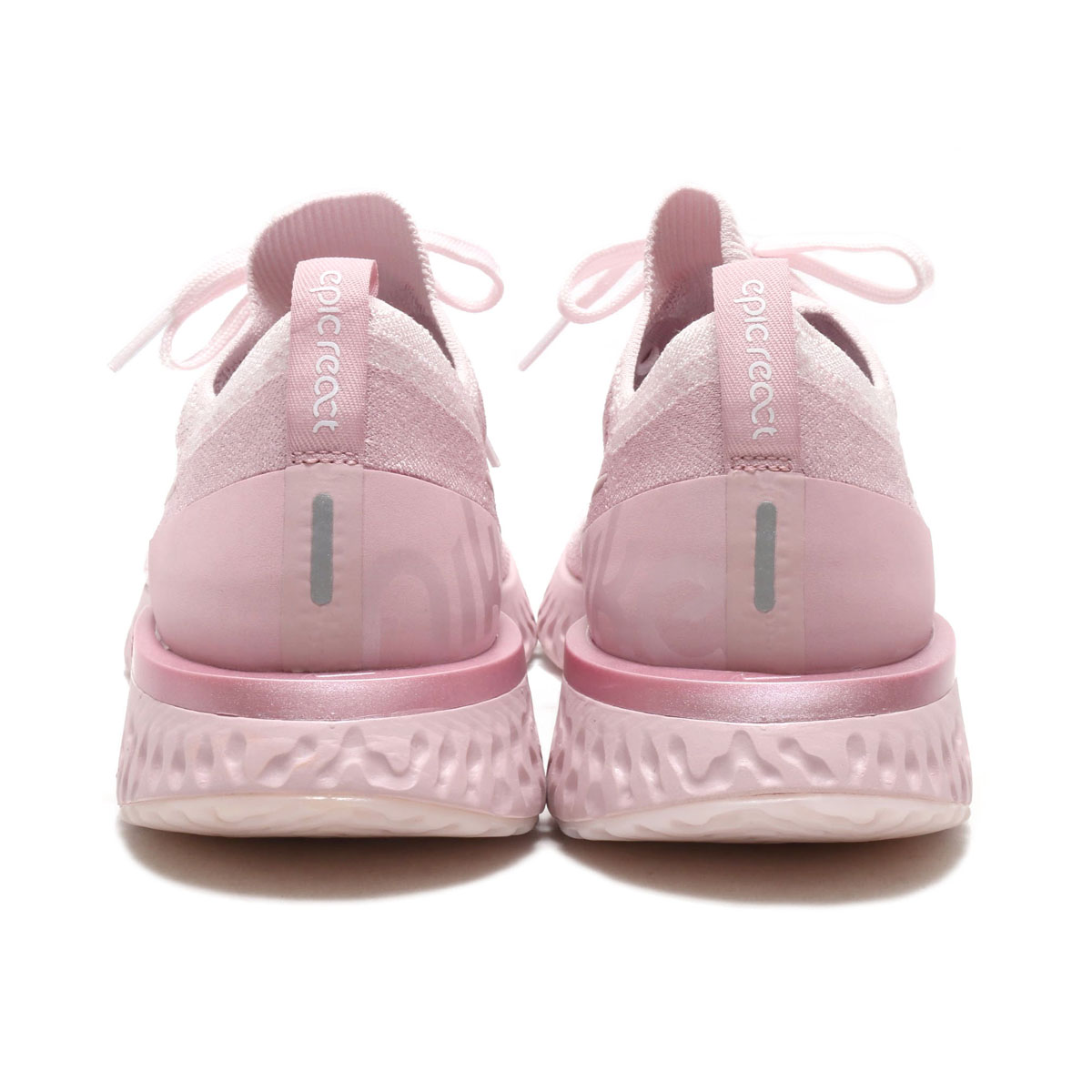37c6dbe9738 NIKE EPIC REACT FLYKNIT (Kie Ney pick re-act fly knit) (PEARL PINK PEARL  PINK-BARELY ROSE) 18SU-S