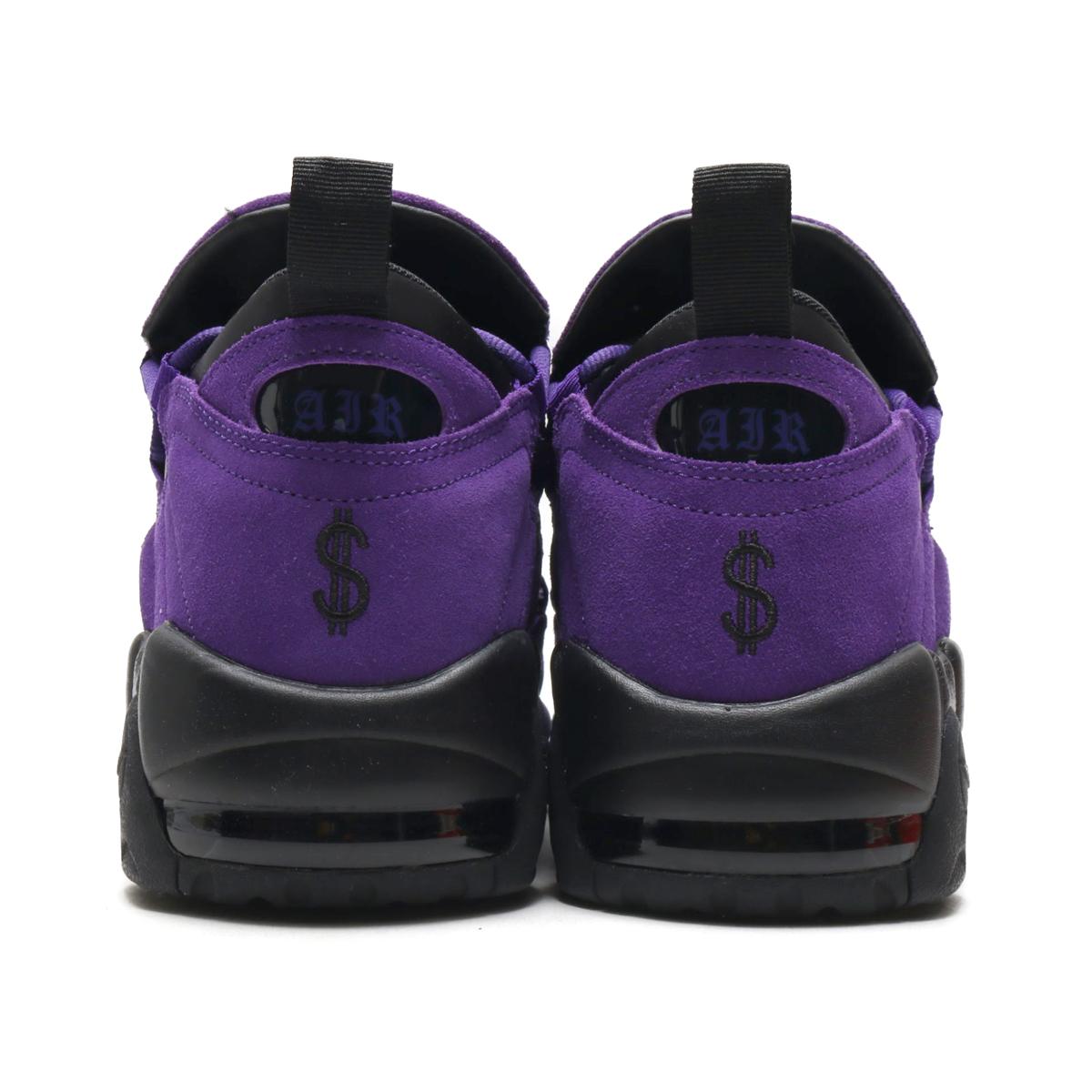hot sale online 5fa43 5ab45 NIKE AIR MORE MONEY QS PRPL (Nike air more money QS PRPL) (COURT PURPLECOURT  PURPLE-BLACK) 18SU-S