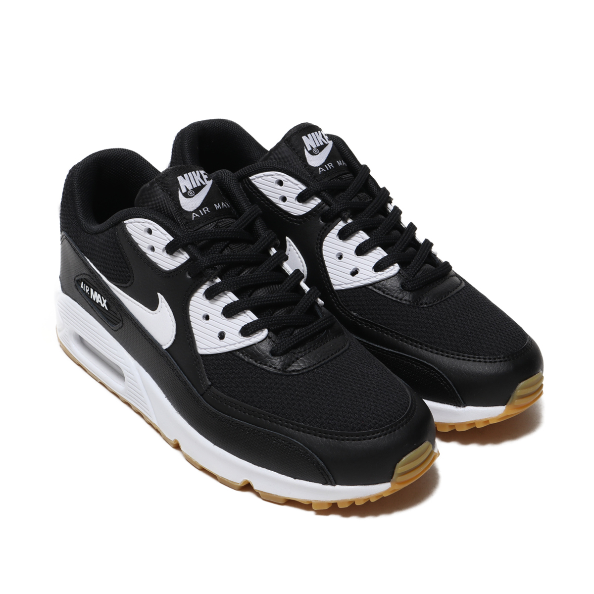 new style a206e f977e ... germany nike wmns air max 90 nike women air max 90 black white gum  light brown