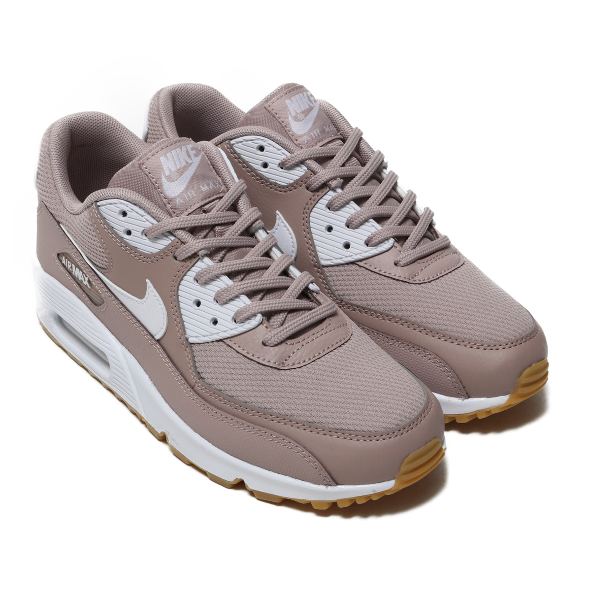 NIKE WMNS AIR MAX 90 (Nike women Air Max 90) DIFFUSED TAUPE/WHITE-GUM LIGHT BROWN 18FA-I