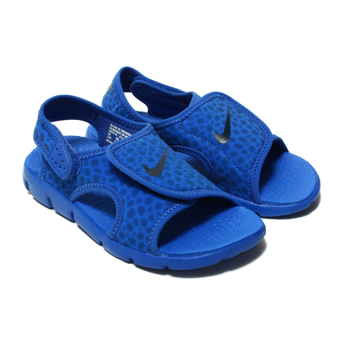 f5d375b7da0c NIKE SUNRAY ADJUST 4 (GS PS) (Nike sun lei adjust 4 GS PS) GAME  ROYAL OBSIDIAN-GAME ROYAL 18SS-I