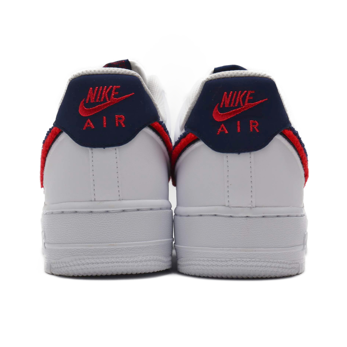 best website 2e3d2 c62a1 NIKE AIR FORCE 1  07 LV8 (Nike air force 1 07 LV8) WHITE UNIVERSITY RED-BLUE  VOID 18FA-I