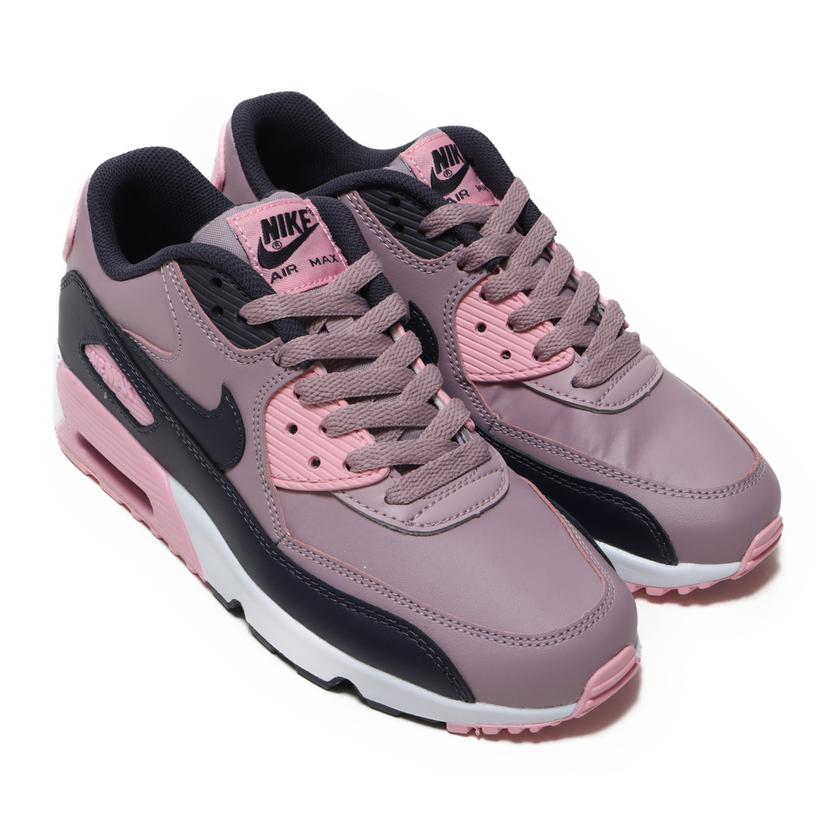 NIKE AIR MAX 90 LTR (GS)(ナイキ エア マックス 90 LTR GS)ELEMENTAL ROSE/GRIDIRON-PINK-WHITE【キッズ スニーカー】18FA-I
