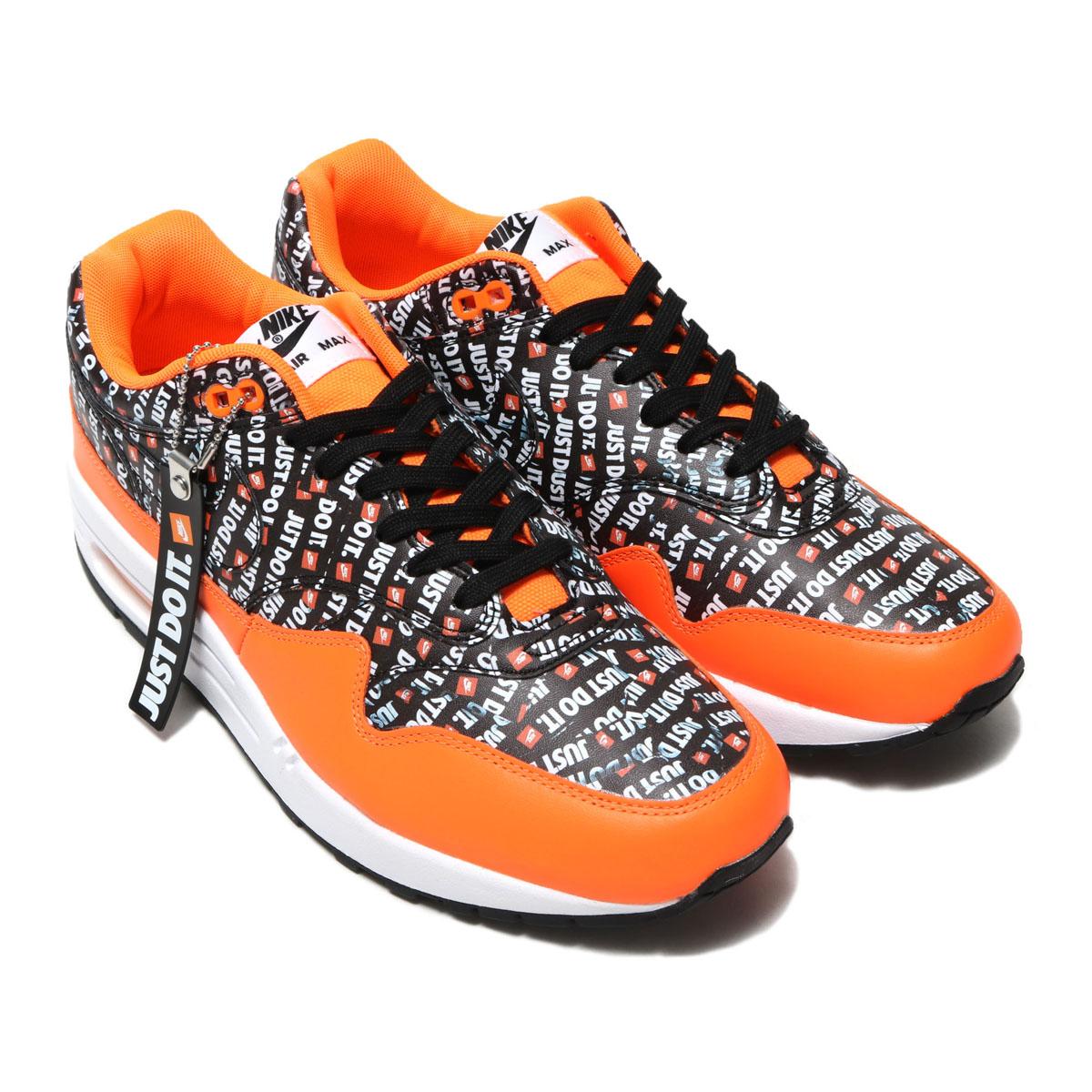 separation shoes 502fd 0bbde ... norway nike air max 1 premium kie ney amax 1 premium black black total  orange white