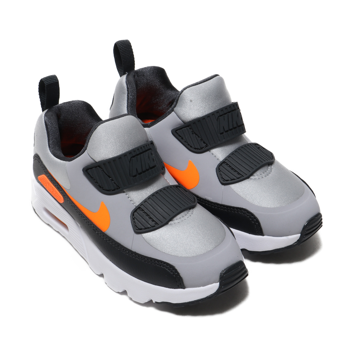 NIKE AIR MAX TINY 90 (PS)(ナイキ エア マックス タイニー 90 PS)WOLF GREY/TOTAL ORANGE-ANTHRACITE-WHITE【キッズ スニーカー】18FA-I