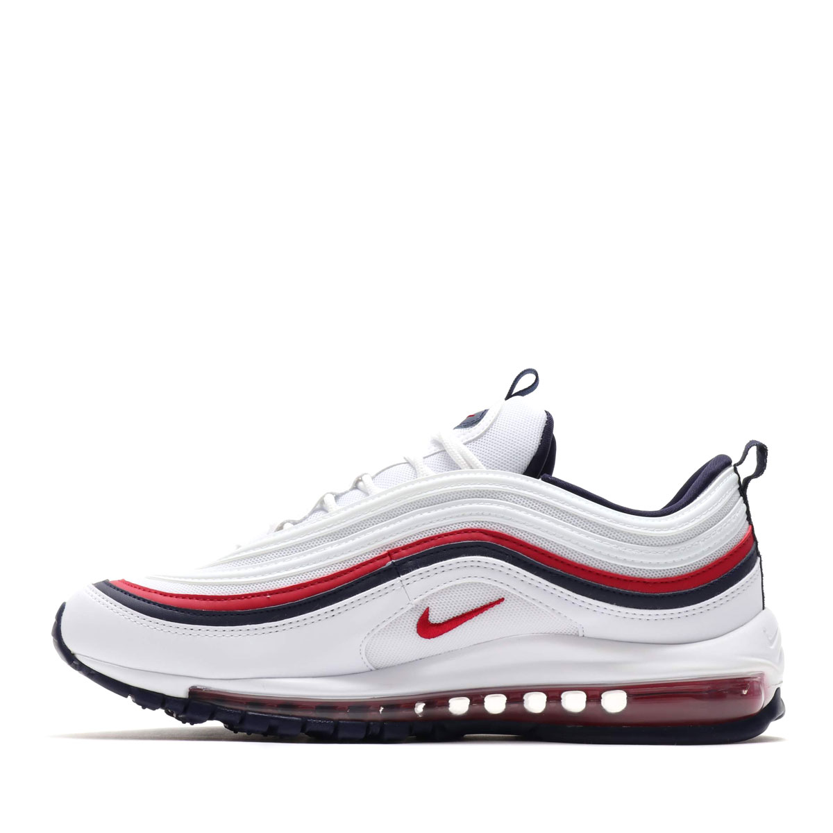 sale retailer a6195 297ae ... NIKE W AIR MAX 97 (Nike women Air Max 97) WHITE RED CRUSH ...