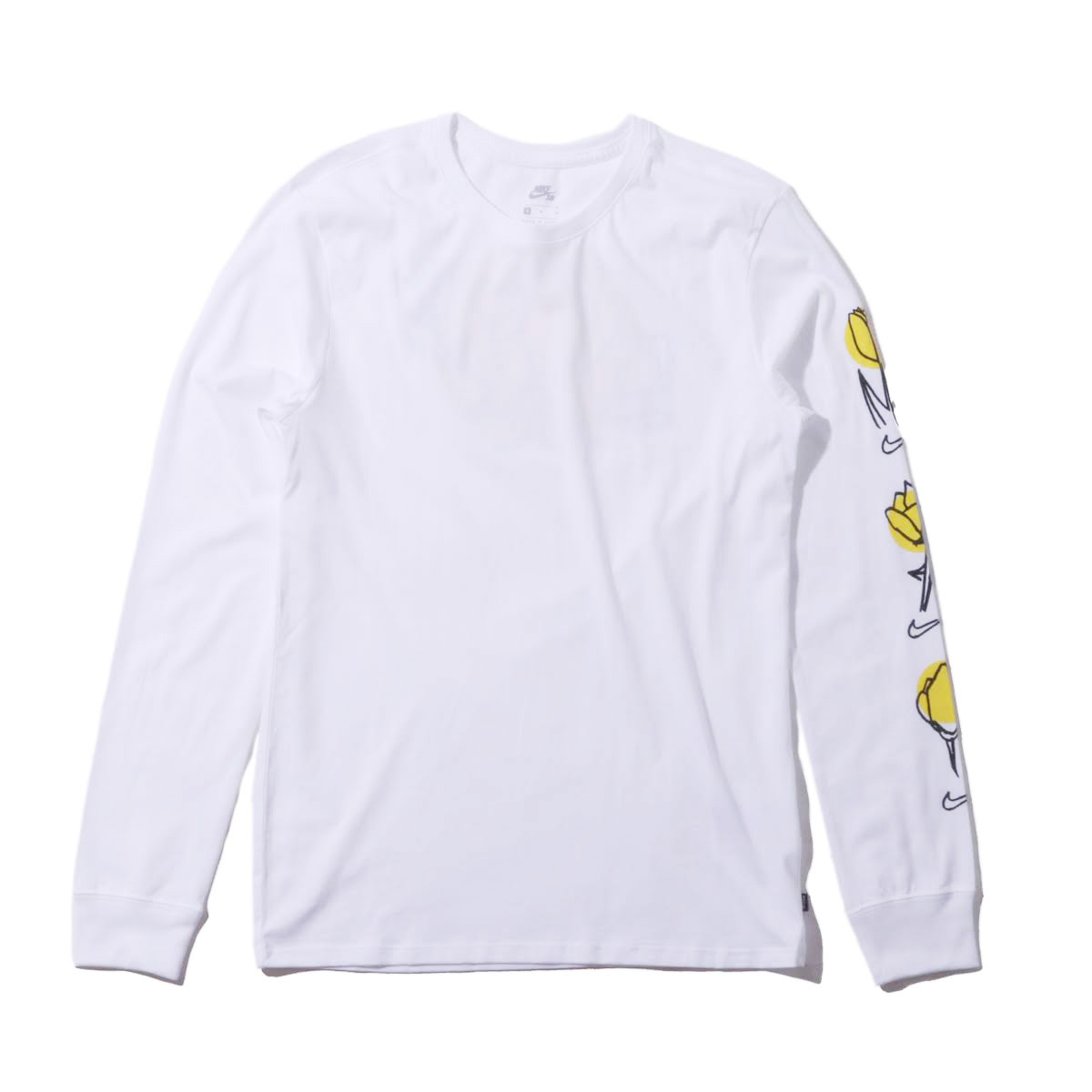 60d4ebc0 The Nike SB men Longus Reeve graphic T-shirt keeps a state comfortable  lightly during a play for a feeling of casual fitting of the tender jersey  material.