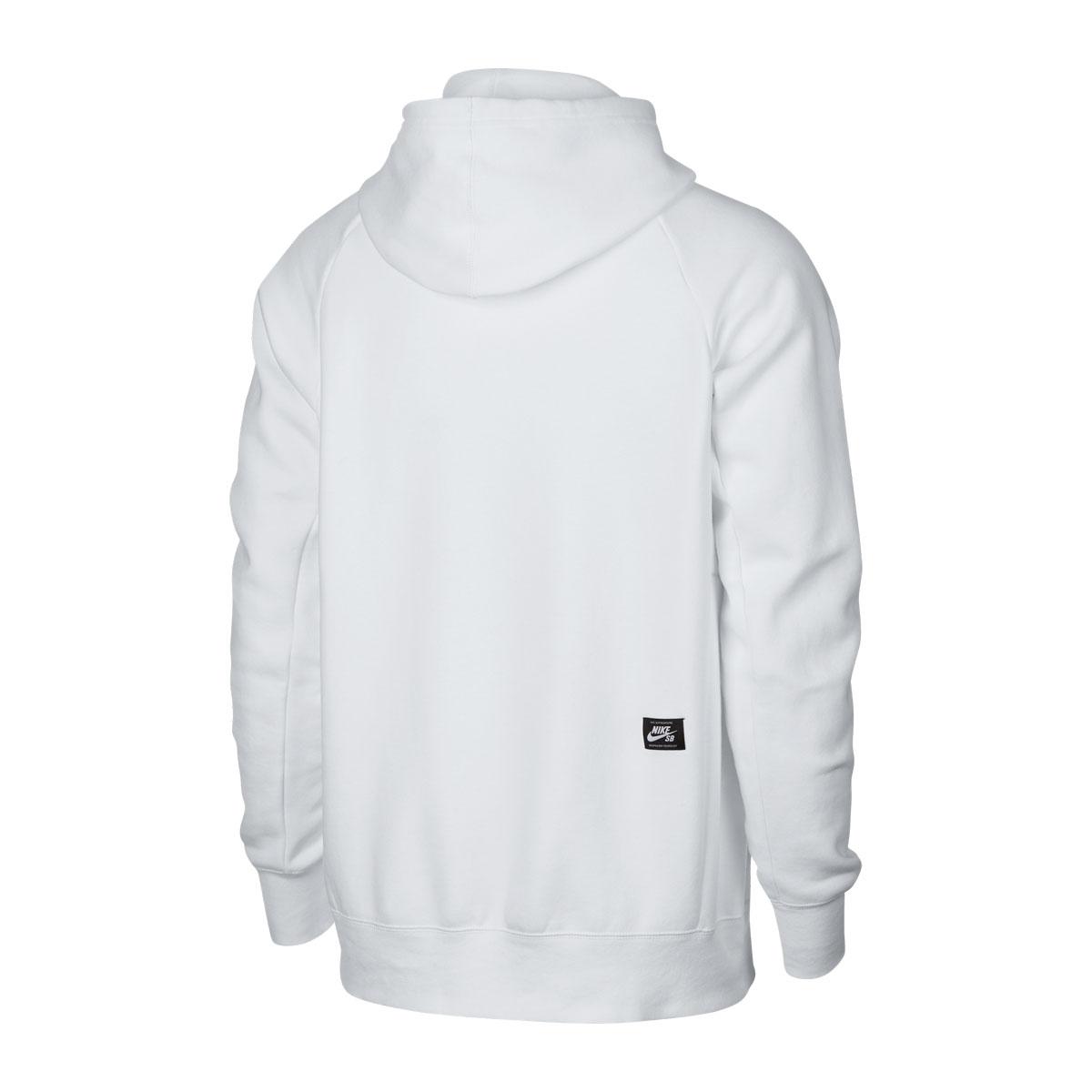b0bd228112fc NIKE AS M NK SB HOODIE ICON PO FLRL (Nike SB floral icon PO フーディ) WHITE BLACK YELLOW  OCHRE 18FA-I