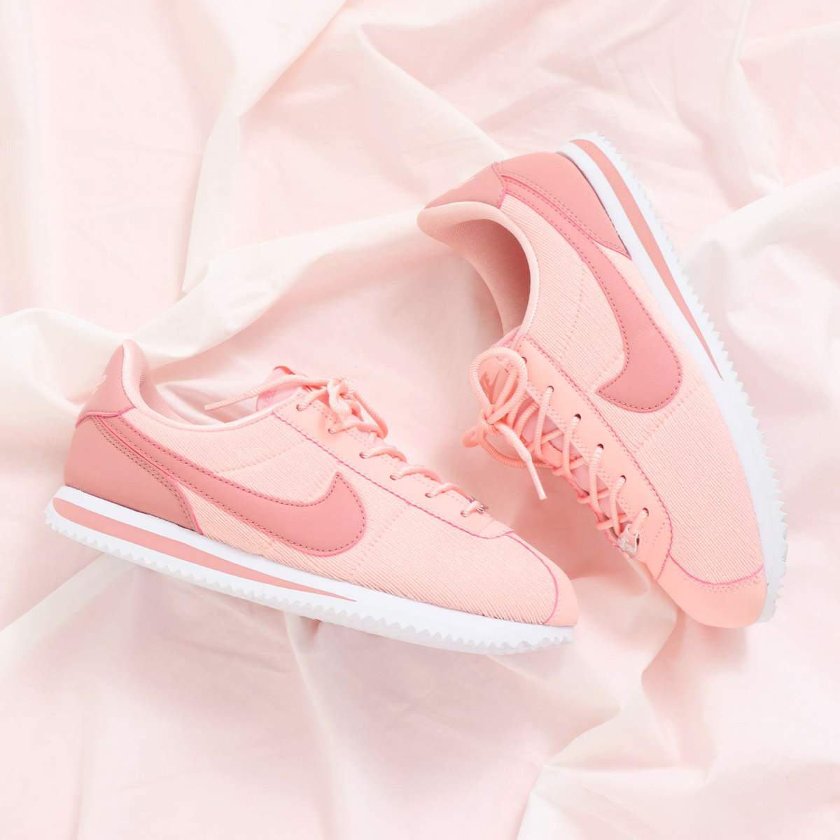 detailed look e5735 bbd90 atmos pink  NIKE CORTEZ BASIC TXT SE (GS) (ナイキコルテッツ ...