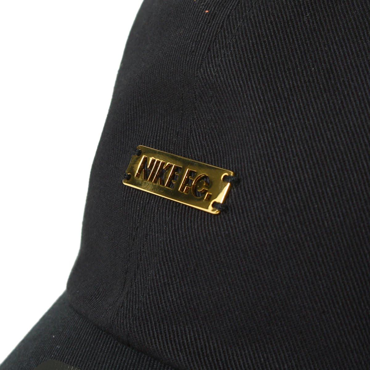 b4345291885 NIKE U NK FC H86 CAP ADJ (Nike FC H86 ADJ cap) BLACK METALLIC GOLD 18SS-I