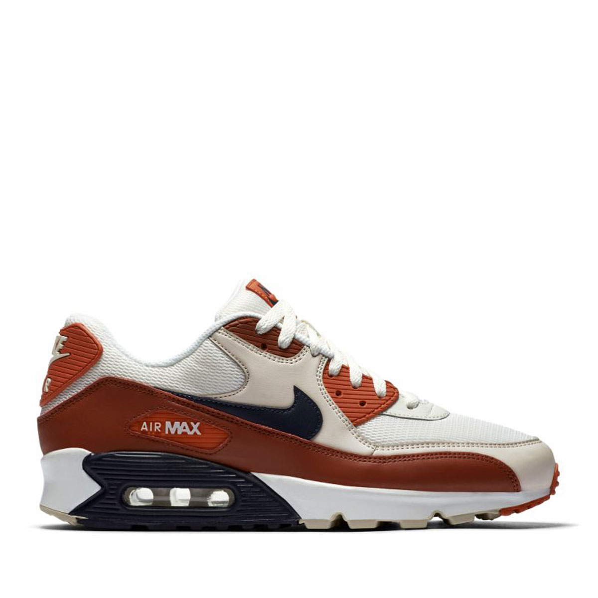 new style 249f0 4425d NIKE AIR MAX 90 ESSENTIAL (Kie Ney AMAX 90 essential) MARS STONE OBSIDIAN- VINTAGE CORAL 18SS-I