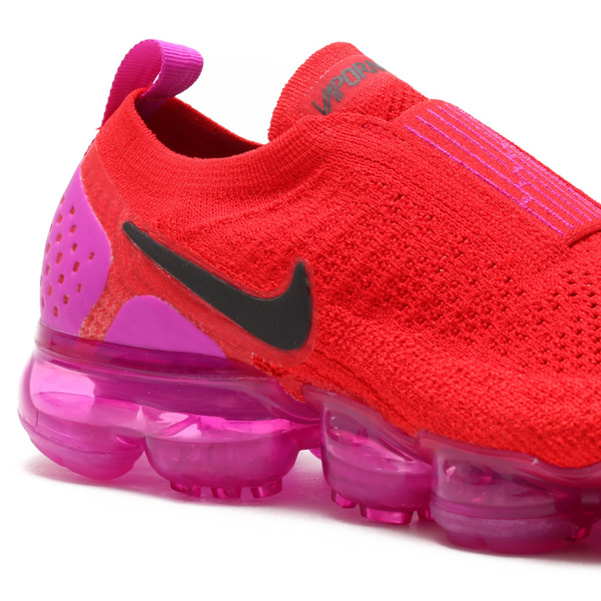 18406f5b8c8 NIKE WMNS AIR VAPORMAX FK MOC 2 (Nike women air vapor max fried food knit  mock 2) UNIVERSITY RED BLACK-FUCHSIA BLAST 18SU-S