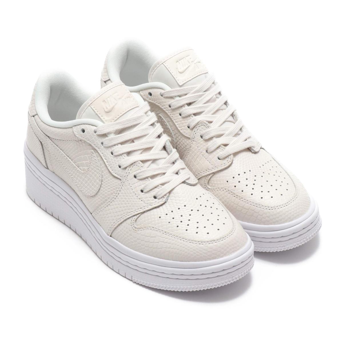 NIKE WMNS AIR JORDAN 1 RE LOW LIFTD (PHANTOM PHANTOM-WHITE) (Nike women Air  Jordan 1 nostalgic low LIFTED)18FA-S 4848119248