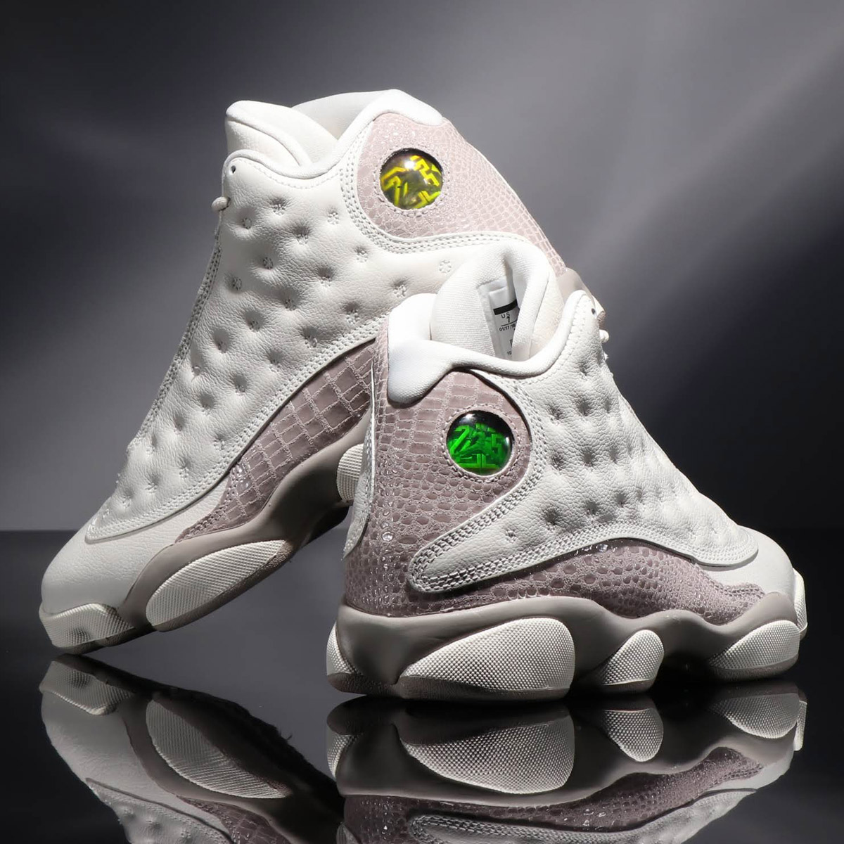 best website d0da1 aaa80 NIKE WMNS AIR JORDAN 13 RETRO (nostalgic Nike women Air Jordan 13) PHANTOM   ...