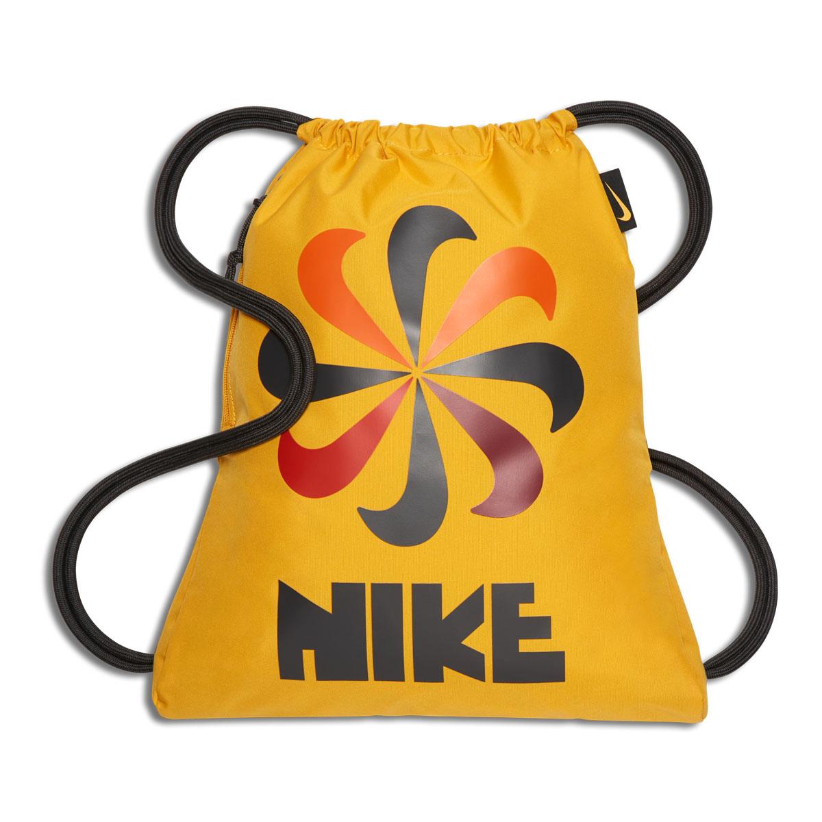 NIKE NK HERITAGE GMSK 3 - GFX (Nike heritage GFX gym case 3) YELLOW  OCHRE DARK CHARCOAL YELLOW OCHRE 18FA-I c0f69c594d302