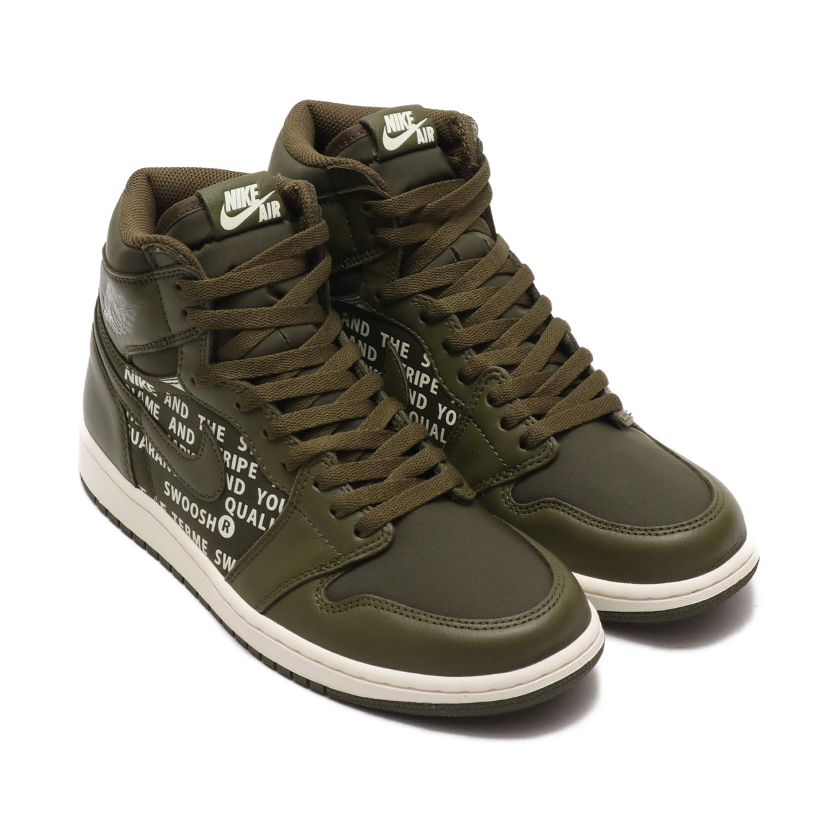 8c72bece10e83e NIKE AIR JORDAN 1 RETRO HIGH OG (Nike Air Jordan 1 nostalgic high OG) (OLIVE  CANVAS SAIL)