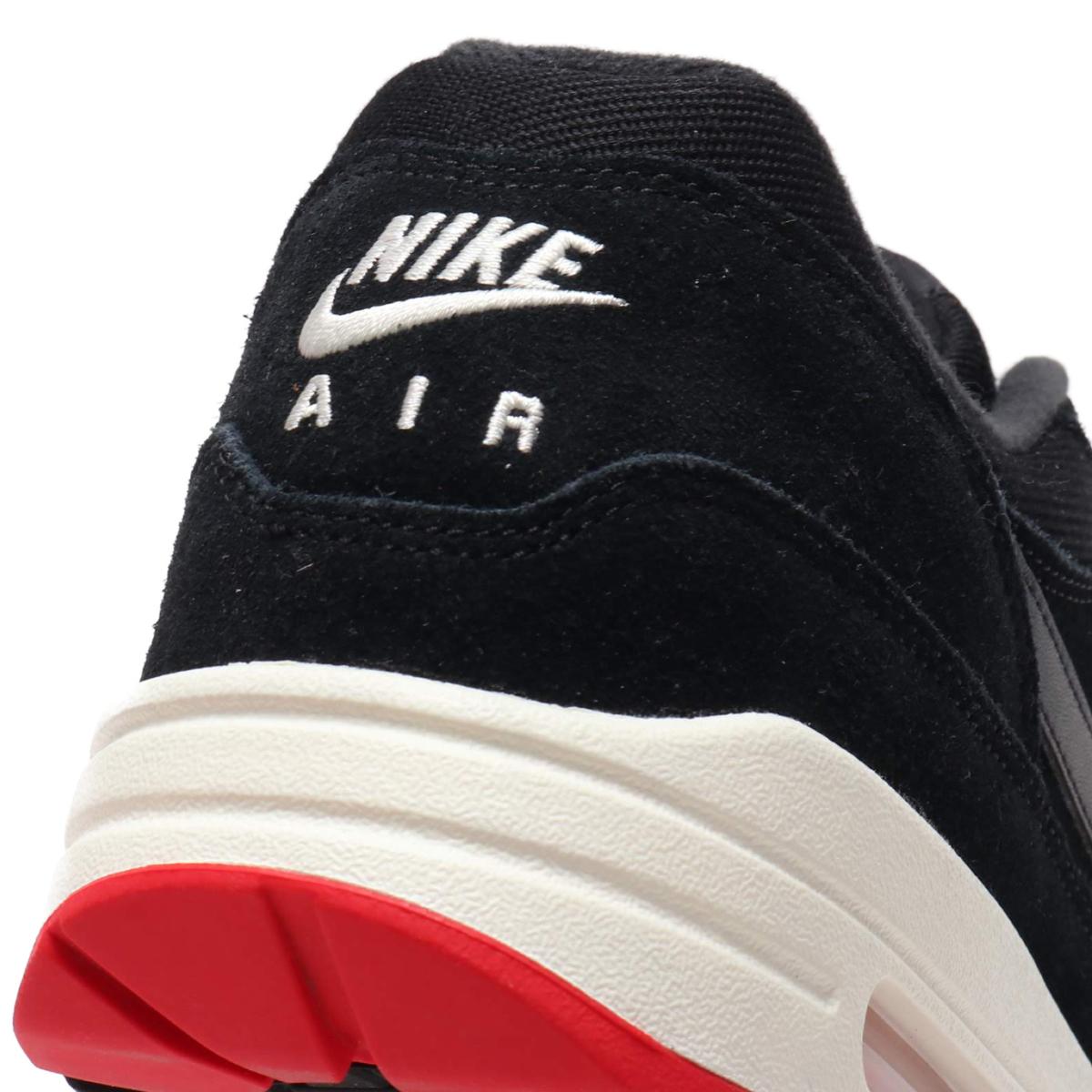 sports shoes d310b 41146 ... NIKE AIR MAX 1 PREMIUM (Kie Ney AMAX 1 premium) BLACK OIL GREY