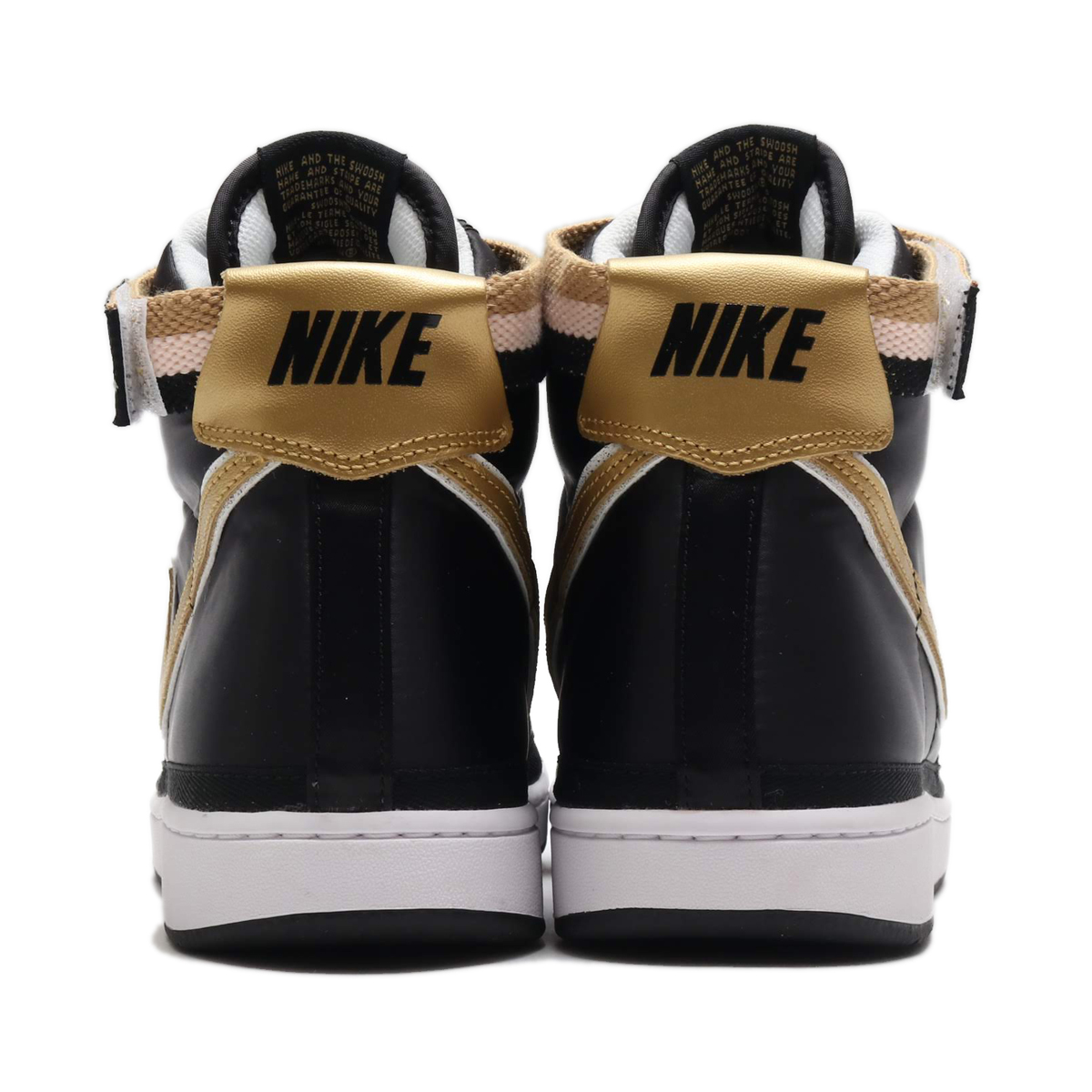 17d8f34fa49 NIKE VANDAL HIGH SUPREME QS (ナイキバンダルハイサプリーム QS) (BLACK METALLIC  GOLD-WHITE)18FA-S