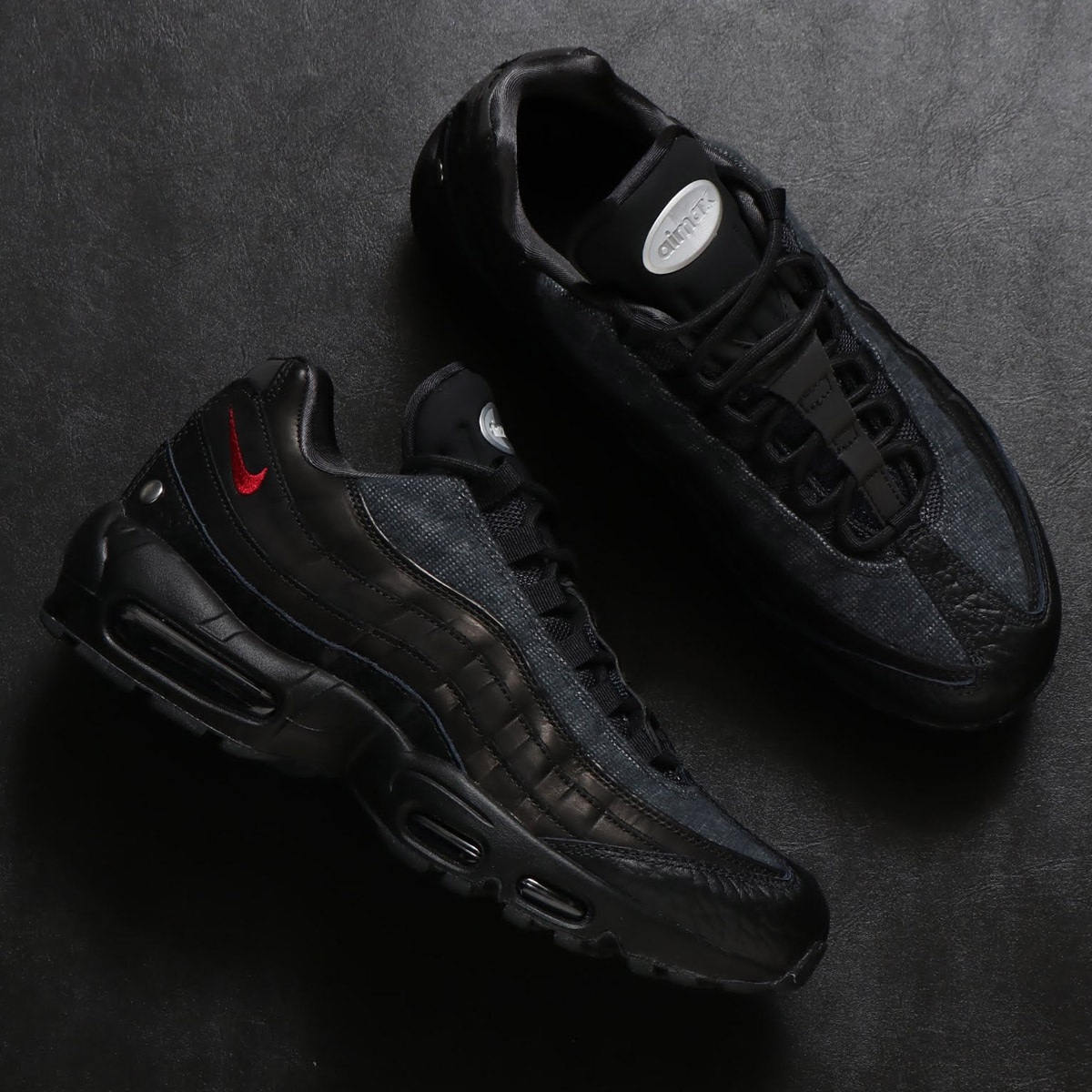 san francisco 1c501 9ff2b NIKE AIR MAX 95 NRG (Kie Ney AMAX 95 NRG) (BLACK TEAM RED-ANTHRACITE) 18AW-S