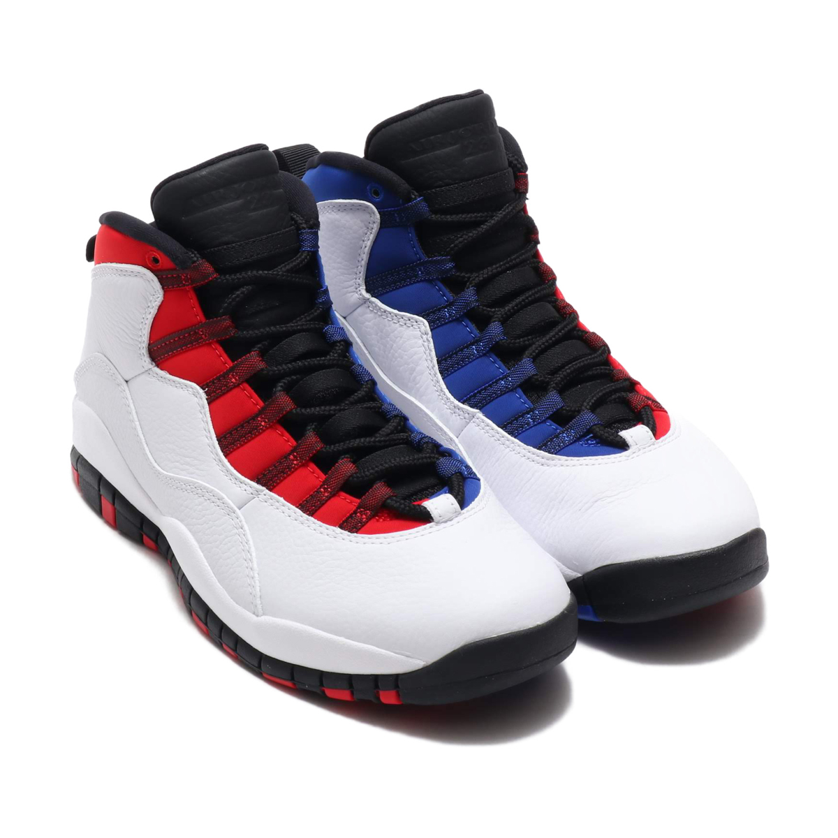 0d9e666e6e NIKE AIR JORDAN 10 RETRO (nostalgic Nike Air Jordan 10)  (WHITE/BLACK-UNIVERSITY RED-HYPER ROYAL) 18SP-S