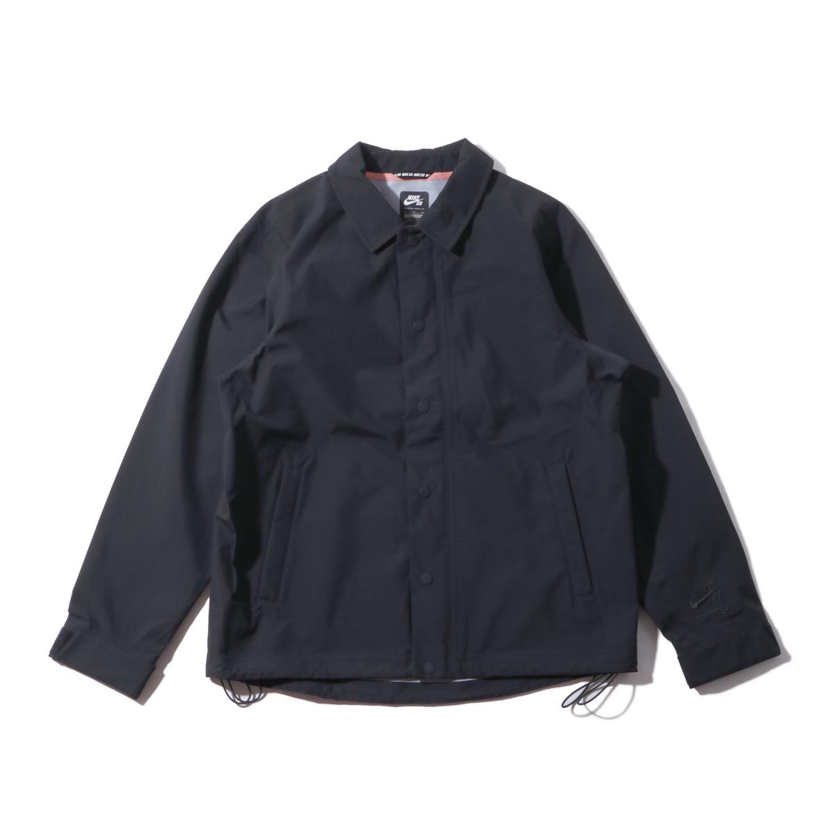 NIKE AS M NK SB JKT GORE BLACK(ナイキ SB ゴアテックス ブラック ジャケット)BLACK【メンズ ジャケット】17SP-I