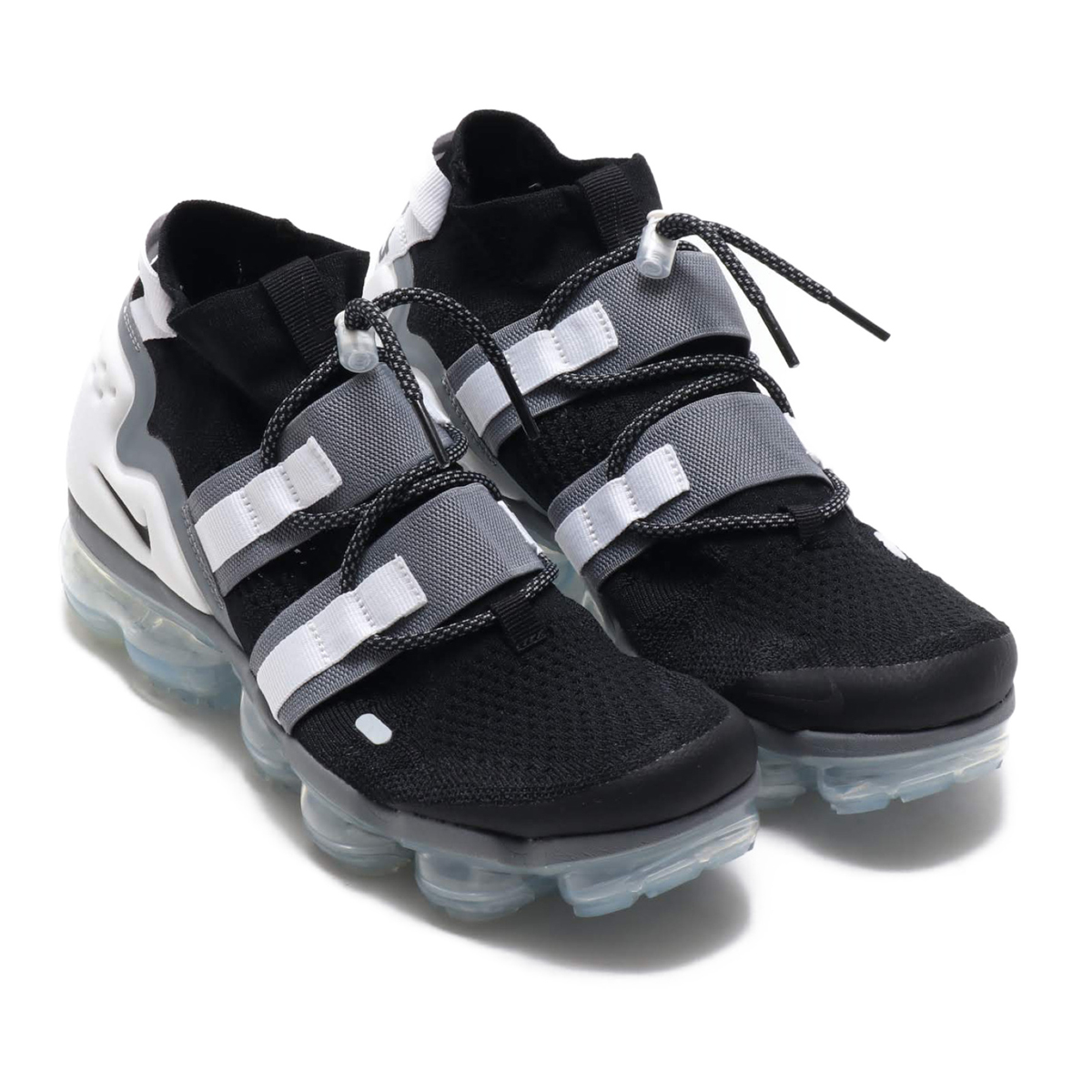 2ee4279a4c1c2 NIKE AIR VAPORMAX FK UTILITY (Nike air vapor max fried food knit utility)  BLACK BLACK-COOL GREY-WHITE 18FA-S