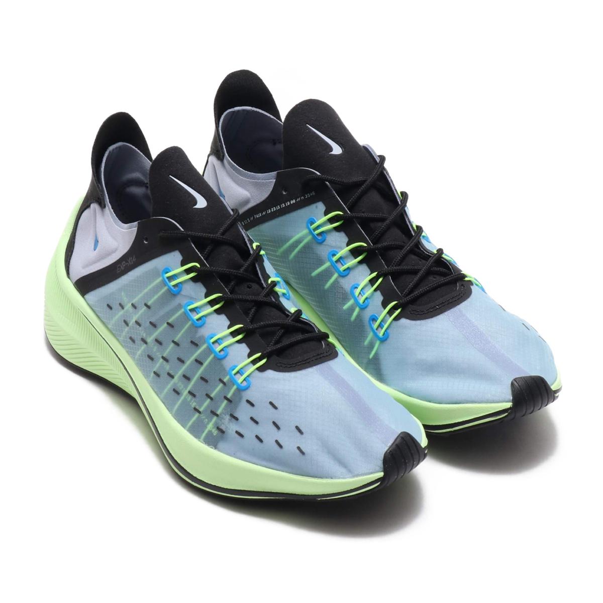 6aebb34f9783 NIKE EXP-X14 (Nike EXP-X14) PHOTO BLUE GLACIER GREY-BLACK-VOLT 18FA-S